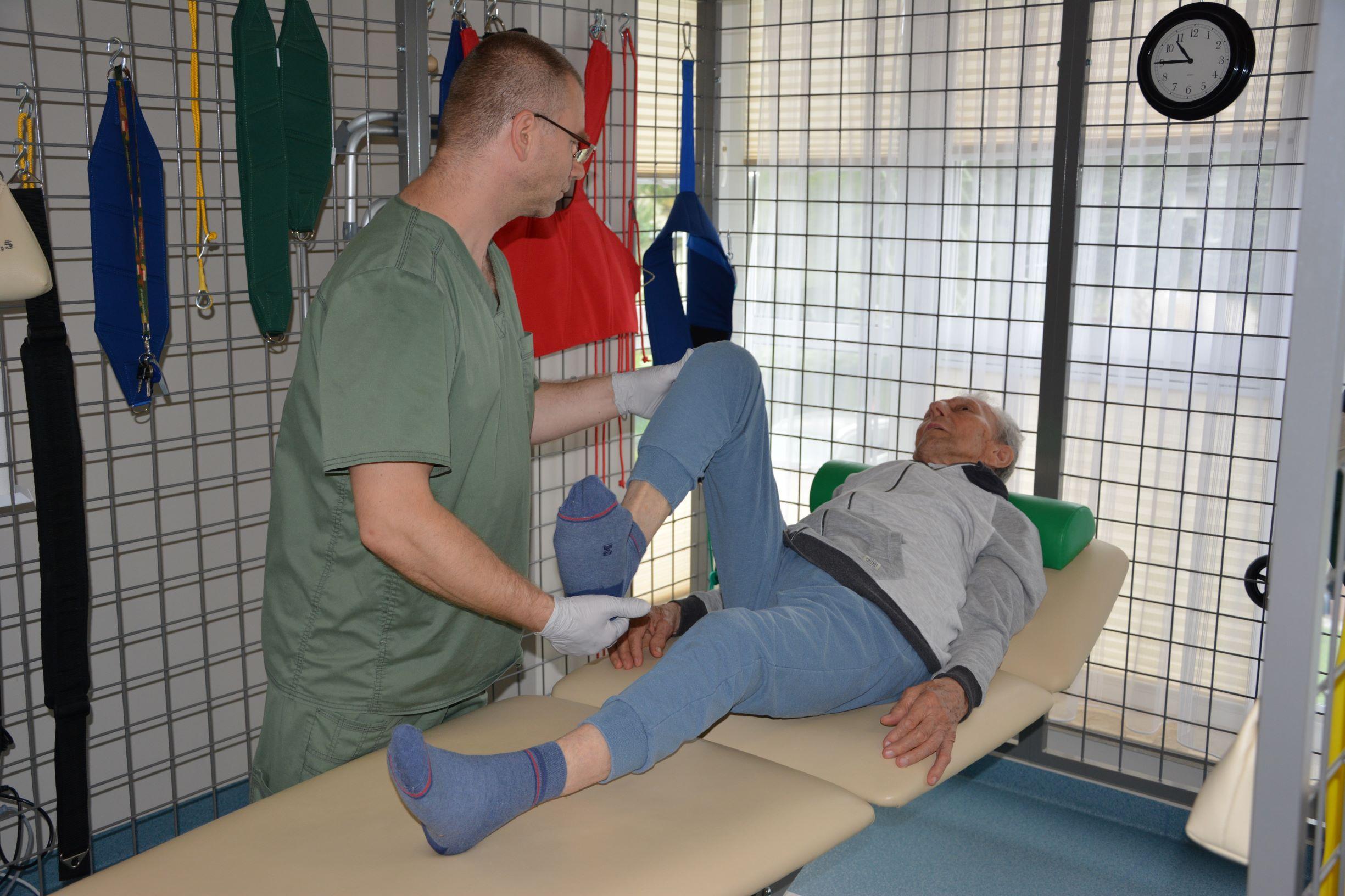 Indywidualna rehabilitacja.